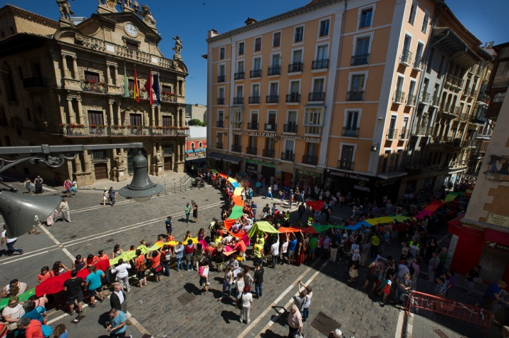 Gure Esku Dago. Plaza Ayuntamiento.