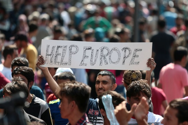 HUNGARY-EUROPE-SYRIA-AFGHANISTAN-MIGRANTS