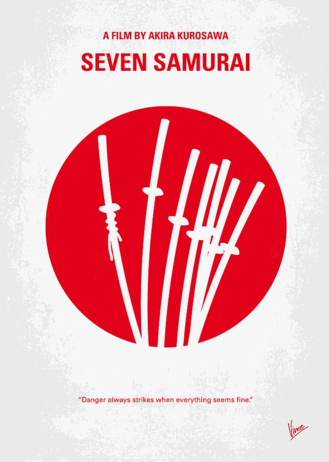 no200-my-the-seven-samurai-minimal-movie-poster-chungkong-art